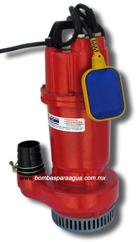 Bombas sumergibles para agua limpia aguas negras lodos - Bombas de achique de agua ...